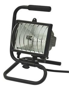 Projecteur halogène portable 400W IP54 - Gedimat.fr