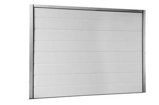 Porte de garage sectionnelle Haut.2,00m larg.2,375m - Gedimat.fr