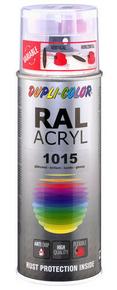 Bombe de peinture RAL 1015 Ivoire Clair - Brillant Duplicolor - Gedimat.fr