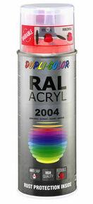 Bombe de peinture RAL 2004 Orangé pur - Brillant Duplicolor - Gedimat.fr