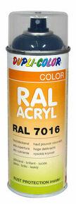 Bombe de peinture RAL 7016 Gris anthracite - Brillant Duplicolor - Gedimat.fr