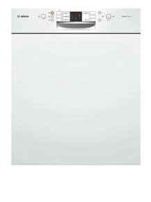 Lave vaisselle 12 couverts 5 programmes BOSCH Bandeau Blanc - Gedimat.fr