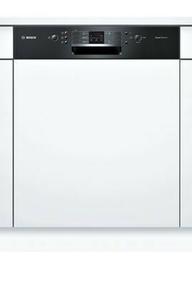 Lave vaisselle 12 couverts 5 programmes BOSCH Bandeau Noir - Gedimat.fr