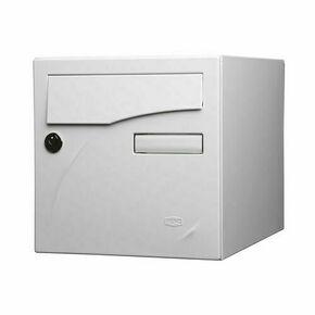 Boîte aux lettres PREFACE 2 portes coloris blanc - Gedimat.fr