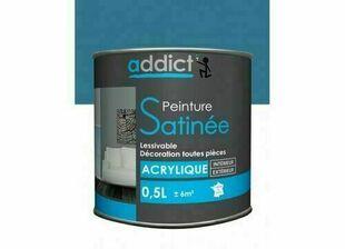 Peinture acrylique satin 0.5 l turquoise - Gedimat.fr