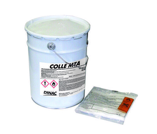 COLLE FIXATION P/DALLES METHACRYLATE 8KG - Gedimat.fr