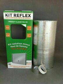 Isolant réflecteur à bulles KIT REFLEX M1 porte de garage - 10x0,60m - R=2.40 m²K/W - Gedimat.fr
