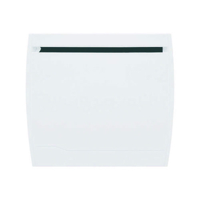 Radiateur à inertie sèche ISALINE 1500W larg.92,7cm haut.58cm prof.11,5cm blanc - Gedimat.fr