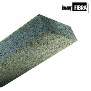 Panneau composite FIBRA ULTRA FC standard  - 2x0,60m Ep.115mm -  R=3,40m².K/W - Gedimat.fr