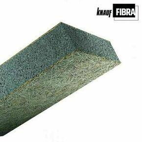Panneau composite FIBRA ULTRA FC standard  - 2x0,60m Ep.80mm -  R=2,30m².K/W - Gedimat.fr