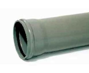 Tube en PVC assainissement CR8 diam.315mm long.3m - Gedimat.fr