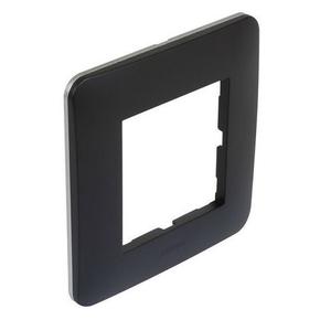Plaque simple CASUAL noir mat - Gedimat.fr