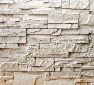 plaquettes de parement en pierre reconstitu e pierre seche multiformat coloris cr me. Black Bedroom Furniture Sets. Home Design Ideas