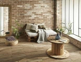Carrelage pour mur en grès cérame émaillé MURALES larg.10cm long.30cm coloris marronne - Gedimat.fr