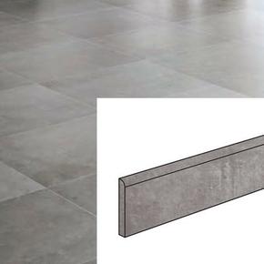 Plinthe pour sol intérieur COMPAKT larg.8cm long.60cm coloris marengo - Gedimat.fr