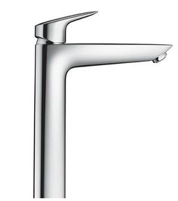 Mitigeur lavabo grand modèle MY CUBE HANSGROHE chromé - Gedimat.fr