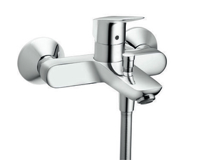 Mitigeur bain-douche MY CUBE HANSGROHE en laiton chromé - Gedimat.fr