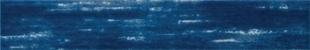 Décor rectifié MURANO en grès cérame émaillé pour mur en faïence mate rectifiée DOWNTOWN larg.15cm long.90cm coloris blu - Gedimat.fr