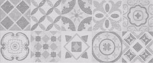 Décor FLORENCE pour mur en faïence mate DOWNTOWN larg.25cm long.60cm coloris alexander platz - Gedimat.fr