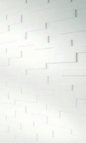 Lambris effet 3D SP300 lames ép.15mm larg.panachées 80-100-120mm long.840mm blanc - Gedimat.fr