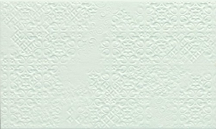 Decor pour mur en faïence brillante IPERTREND larg.20cm long.33,3cm coloris white - Gedimat.fr