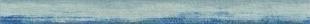 Listel pour mur en faïence DOWNTOWN larg.4,5cm long.60cm coloris blu - Gedimat.fr