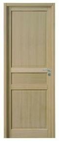 Bloc-porte JADE huisserie 72x46mm en MDF enrobé placage chêne brut 1er choix haut.204cm larg.73cm gauche poussant - Gedimat.fr