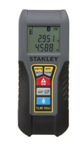 Mesure laser TLM99SI PRO STANLEY Bluetooth 35m - Gedimat.fr
