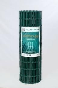 Grillage plastifié SUPERCLOS+ maille de 100x50mm haut.2.00m long.25m vert RAL 6005 - Gedimat.fr