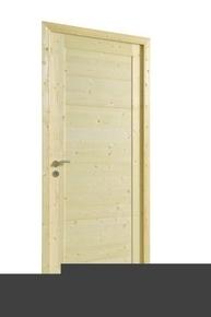 Bloc-porte LUNA huisserie 72x45mm en épicéa 1er choix haut.204cm larg.83cm droit poussant - Gedimat.fr