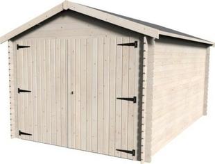 Garage ECO GAMACHE dim.3x4,80 �p.28mm - GEDIMAT - Mat�riaux de construction - Bricolage - D�coration