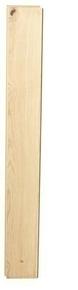 Parquet contrecollé monolame chêne rustique A class XTRA long ép.10mm larg.140mm long.2000 mm verni bois brut - Gedimat.fr
