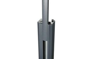 Baguette de finition gris anthracite sablé 27x9,5x1815mm - Gedimat.fr