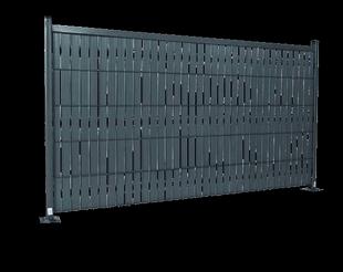 Kit d'occultation PLASTISIS II en PVC vert long.2m haut 1,93m - Gedimat.fr