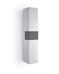 Colonne COSMOS haut.160cm larg.31,9cm long.36,9cm blanc/gris - Gedimat.fr