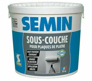 Sous couche SEMIN - seau de 25kg - Gedimat.fr