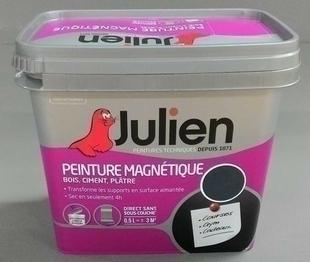 Peinture technique MAGNETIQUE sans sous-couche bidon de 0,5 litre coloris gris mat - Gedimat.fr