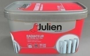 Peinture acrylique RADIATEUR sans sous-couche bidon de 2 litres coloris blanc satiné - Gedimat.fr
