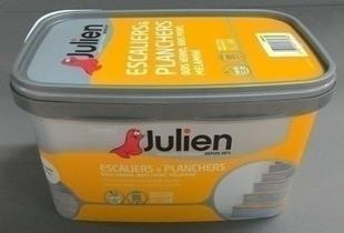 Peinture acrylique ESCALIERS & PLANCHERS sans sous-couche bidon de 2 litres coloris grain de sable satiné - Gedimat.fr