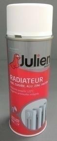 Peinture aérosol spéciale radiateur 400ml coloris titanium satiné - Gedimat.fr
