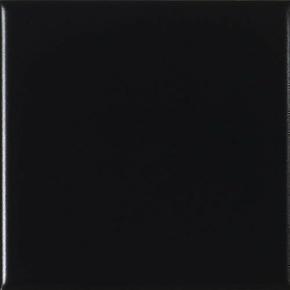 Faïence murale brillante dim.20x20cm coloris Negro boite de 1m² - Gedimat.fr