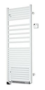 Radiateur sèche-serviettes soufflant ANGORA 750 + 1000W long.50cm haut.139,7cm - Gedimat.fr
