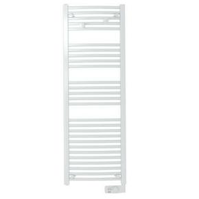 Radiateur sèche-serviettes ASAMA 750W Dim.L.48xH.145xP.10cm - GEDIMAT - Matériaux de construction - Bricolage - Décoration