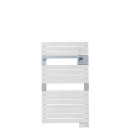 Radiateur sèche-serviettes ASAMA coloris Blanc 500 W Long.55cm Haut.101cm Ép.9cm SAUTER - Gedimat.fr
