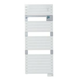Radiateur sèche-serviettes ASAMA coloris Blanc 750W Long.55cm Haut.141cm Ép.9cm SAUTER - Gedimat.fr