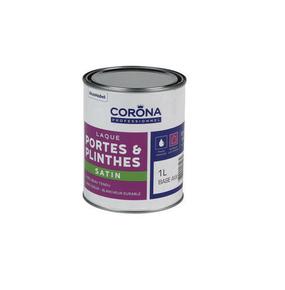 Peinture boiseries satin en phase aqueuse sans odeur avec un très beau tendu une blancheur durable. A appliquer à l'intérieur et à l'extérieur - Gedimat.fr