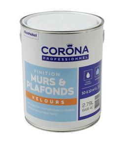 Peinture de finition satin léger avec un aspect velours en phase aqueuse, pour les pièces sèches. Applicable en 2 couches dans la journée - Gedimat.fr