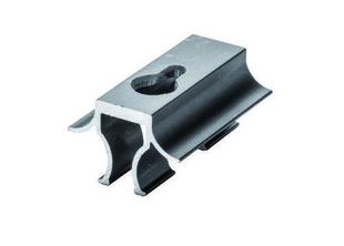 Clip démontable aluminium noir pour lames de terrasse FOREXIA & ATMOSPHERE  sachet de 10 pièces - Gedimat.fr