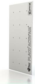 Plaque de plâtre spéciale PLACO ACTIV'AIR BA13 - 2,50x1,20m - Gedimat.fr