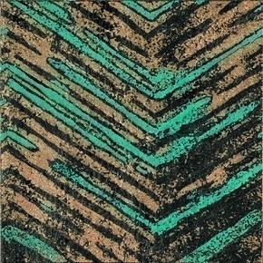 Décor RING pour sol intérieur en grès cérame coloré dans la masse rectifié dim.20x20cm - Gedimat.fr